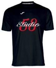 Studio 58 Short Sleeve T-shirt - Black Adults 2018